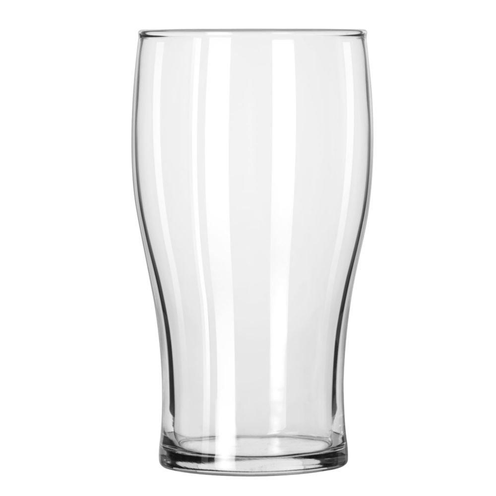 Libbey 4803 Clear 20 Ounce Pub Glass - 24 / CS