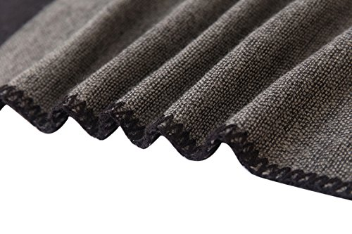 c601b82c28298 Urban CoCo Women s Color Block Shawl Wrap Open Front Poncho Cape (Series  1-black