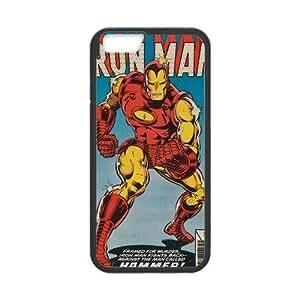 "Super Iron Man iPhone 6 4.7"" Case Marvel Comics Iron Man Back Cover Case (Laser Technology)"