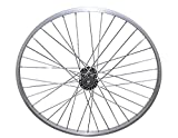 Lowrider 26'' 36 Spoke Trike Alloy Hollow-Hub G/Right Wheel 12g UCP Bearing 15mm inner diameter x 35mm outer diameter Silver. bike part, bicycle part, bike accessory, bicycle accessory