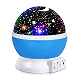 Boomile Baby Night Light, Star Night Lights for Kids, 4 LED Bulbs 8 Modes Star Projector Nightlight for Kids/Children (6FT USB Cord)