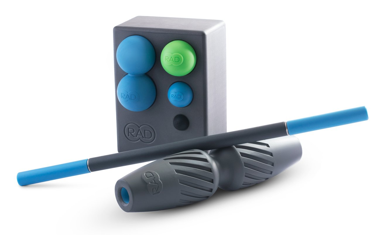 RAD All In Kit I Myofascial Release Tools I Multiple Densities I Self Massage Mobility and Recovery