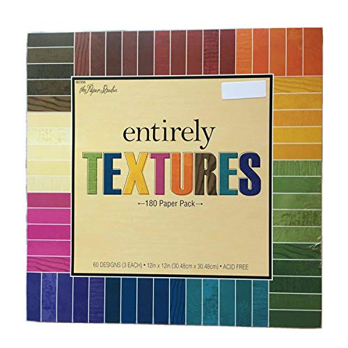 Paper 12 Scrapbooking - Entirely Textures 12x12 Scrapbooking Paper Pack 180 sheets