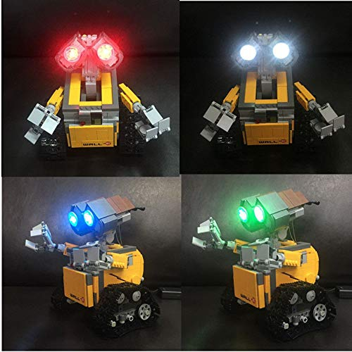 brickled Lighting kit for Lego Ideas Wall E 21303 ( Lego Set not Included)