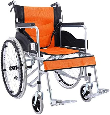 介助式 車椅子 自走式 折りたたみ 自走用 軽量 車いす 炭素鋼ノーパンクタイヤ 駐車 介助ブレーキ付き 背折れ車イス 介助用