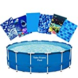22' Tube Frame Pool Liner Replacement Re-Lining Kit