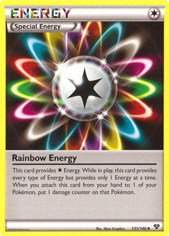 Pokemon - Rainbow Energy (131/146) - XY ()