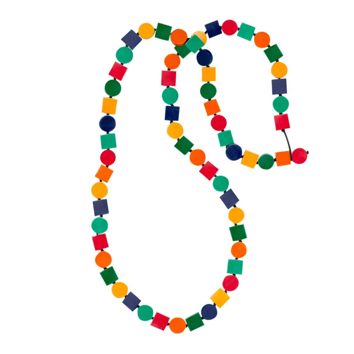 Ruby Olive Women's Colorful Fiesta Long Beaded Necklace Adjustable by Ruby Olive