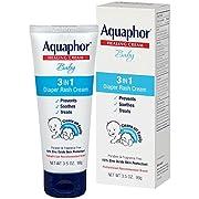 Aquaphor Baby Healing Cream 3 in 1 Diaper Rash 3.5 Ounce (100ml) (2 Pack)