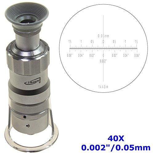 iGaging 36-LM40 Measuring Microscope, 40X - 0.002