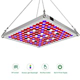 Led Grow Light TOPLANET, Update Reflector 75w LED Plant Lamp Panel with Red Blue IR Light Full Spectrum for Indoor/Grow Box/Greenhouse Veg. Flower Growth Series 2.0