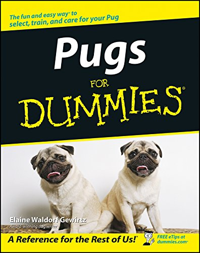 Pugs For Dummies Elaine Waldorf Gewirtz 9780764540769 Amazon