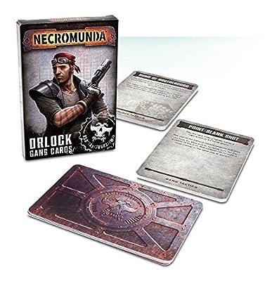 Necromunda: Orlock Gang Cards from Games Workshop
