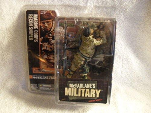 McFarlane's Military Series Debut MARINE CORPS RECON SNIPER - Action Figure NIP from McFarlane