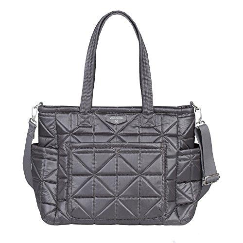 Image of the TWELVElittle Carry Love Diaper Bag Tote (Platinum)