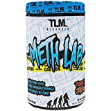 TLM Research | Meth Lab | Preworkout | High, Clinically-Dosed Formula | Intense Energy and Pump | (Tropical Orange, 30 Servings)