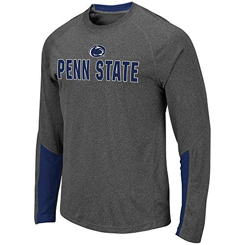 Colosseum Mens Penn State Nittany Lions Brisbane Long Sleeve Tee Shirt - M