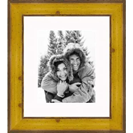 Amazon.com - Rustic Pitted Yellow Pine picture frame 16X20 - Single ...