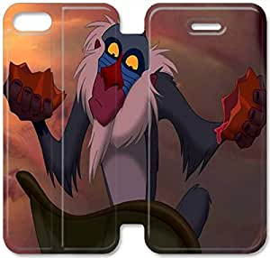 Disney The Lion King Character Rafiki-13 iPhone 6/6S Plus 5.5 Inch Leather Flip Case Protective Cover New Colorful
