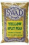 Great Bazaar Swad Split Peas, Yellow, 4 Pound