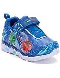 Toddler Shoes,Light Up Tennis Sneaker,Rubber Hard Bottom,Toddler/Kids Sizes 5 to 10