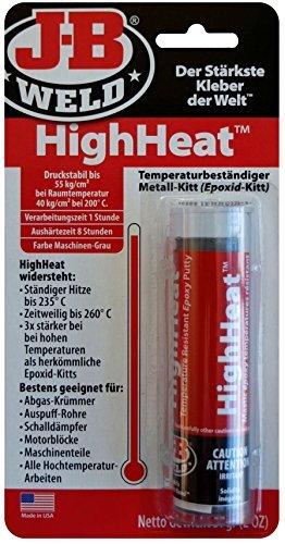 JB Weld HighHeat Heat-resistant Epoxy Metal Putty For All...