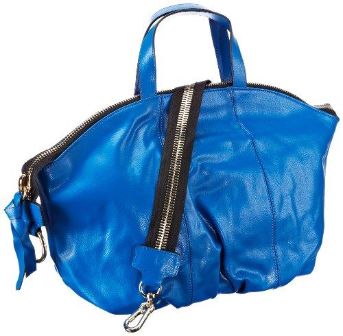Saccess Deatoboato Ss1325, Sac à bandoulière pour femme, 48x32x14 cm (l X P) bleu (blau (bleu))