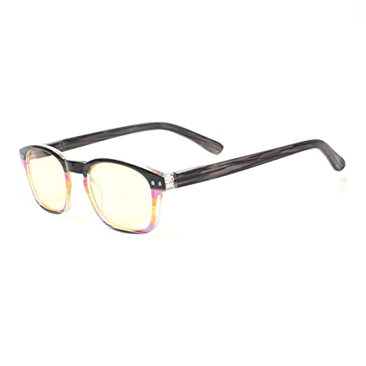 416b1ae992 Blue light Blocking Reading Glasses Computer Colorful Spring Hinge Readers  for Men and Women (1