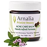 ARNALIA Acne Care Cosmetic Balm -100% Natural & Organic Wild Grown Ingredients - Face & Back Acne Spot Treatment, Cold Sores & Itchy Skin Relief, Cystic & Hormonal Acne, Scar Prevention Cream - (20ml)