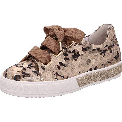 Mujer De Zapatos Para Cordones Gabor Dorado qIv64xw