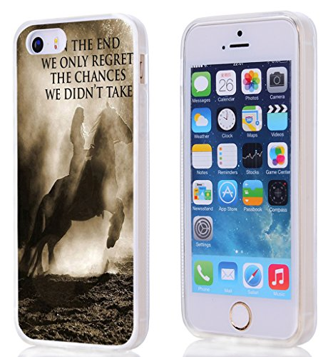 Iphone 5S Case Bible Verses,Case for Iphone SE/5/5S Christian Quotes TPU Sides 360 Degree Protection