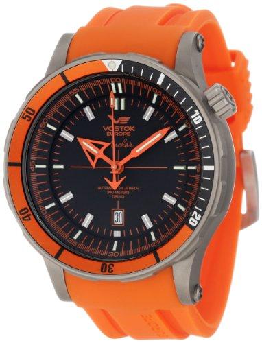 Vostok-Europe Men's NH35A/5107173 Anchar Titanium Case Diver Watch
