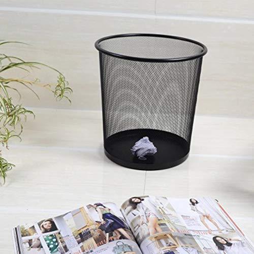 SONGDP Papierkorb Abfalleimer aus Metallgeflecht B/üro-Abfalleimer Haushaltsm/üllsammler Large 12L Abfalleimer