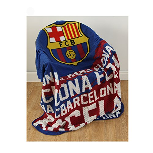 Fc Fleece Blanket - Barcelona FC Impact Fleece Blanket / Throw- Latest Impact Design