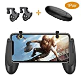 PUBG Mobile Controller, Belsupay Mobile Game Controller with Gamepad for iphone Android 4.5-6.4inch, Sensitive Aim and Shoot Mobile Game Triggers L1R1 Fit for Pubg/Fortnite/Battlegrounds