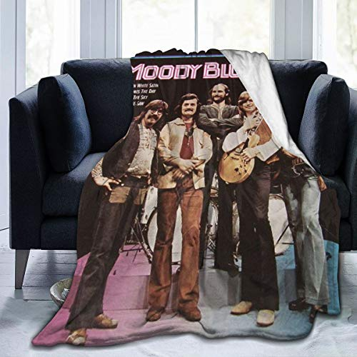 USRobert The Moody Blues A Ultra-Soft Micro Fleece Blanket for Couch/Living Room/Warm Winter Fur Plush Throw Blankets for Adults Or Kids