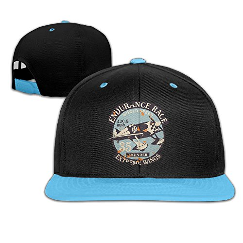 Price comparison product image Big And Little Boys' Fitted Hats Air Racing Adjustable Snapback Red