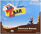 CLIF KID ZBAR - Organic Energy Bar - Chocolate Brownie - (1.27 Ounce Snack Bar, 6 Count)