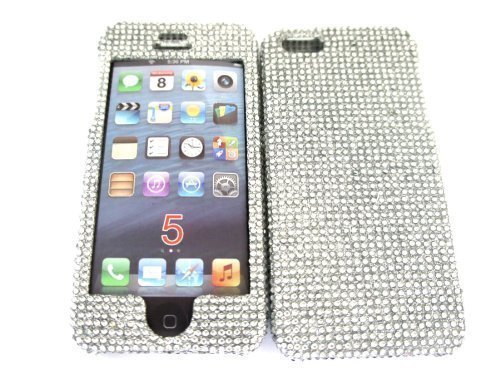 Luxury Designer Swarovski Style Iphone 5 5S Diamante Bling case ... 677f70e0cf