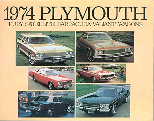 1974 Plymouth Fury Satellite Barracuda Valiant Wagons Brochure Canada (Plymouth Wagons)