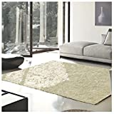 Superior Elegant Shag Rug, Plush and Cozy Hand Tufted Area Rugs, Chic and Contemporary Eyelash Shag Rug with Cotton Backing - 8' x 10' Rug, Ivory