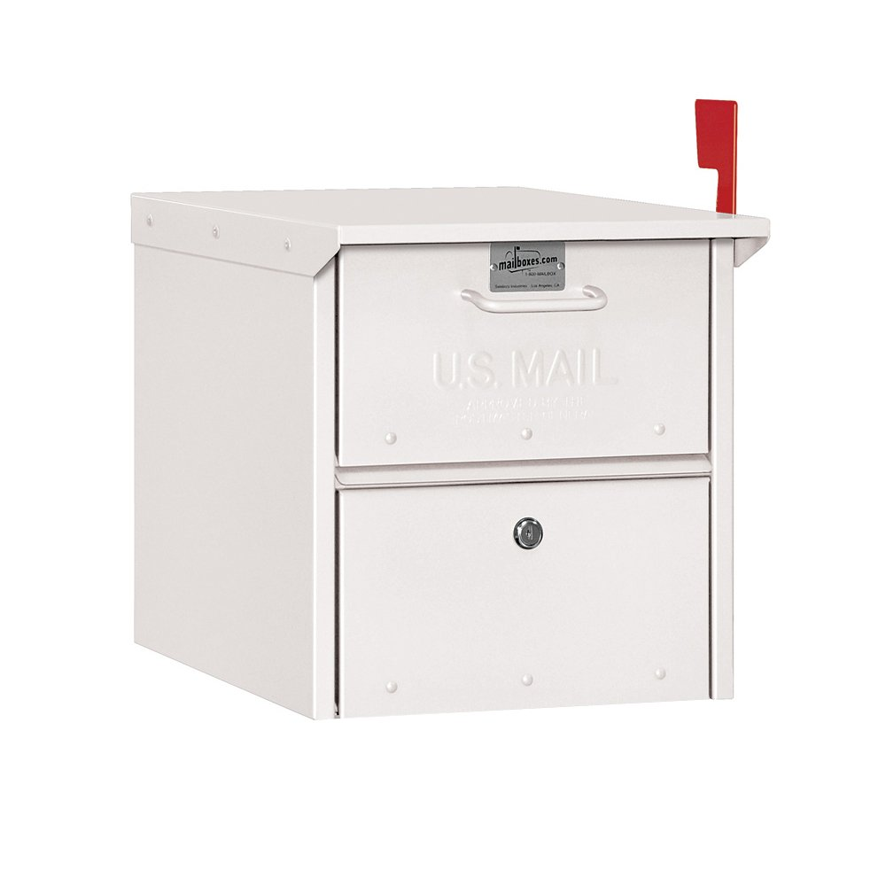 Salsbury Industries 4325WHT Roadside Mailbox, White