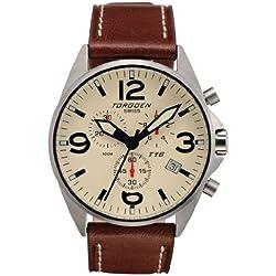 Torgoen Swiss Men's T16103 T16 Series Chronograph Watch