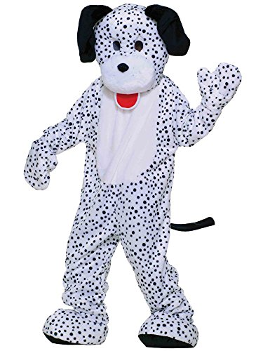 (Dress Up America Dalmatian Mascot, White/Black, One)