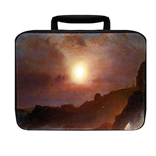 Coast Scene, Mount Desert (Church) Insulated Lunch Box Bag Scene Mount