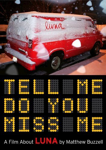 Luna - Tell Me Do You Miss Me by WEA DVD