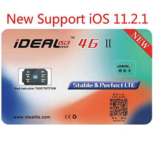 iDeal II Unlock GPP Turbo Sim Unlocking Card for iPhone X 8 7 Plus 6S Plus 5S iOS 11.2.1