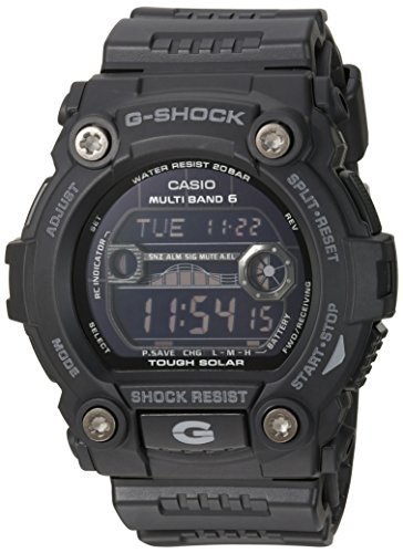 Casio Power Watch Atomic Solar - Casio Men's GW7900B-1 G-Shock Black Solar Sport Watch