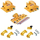 Microjig Grr-Ripper 3D Pushblock (2-Pack) w/TJ-5000 Microdial Tapering Jig & (2) Handle Bridge Kit