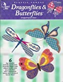 img - for Plastic Canvas Dragonflies & Butterflies book / textbook / text book